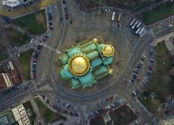 Снимки на София от въздуха