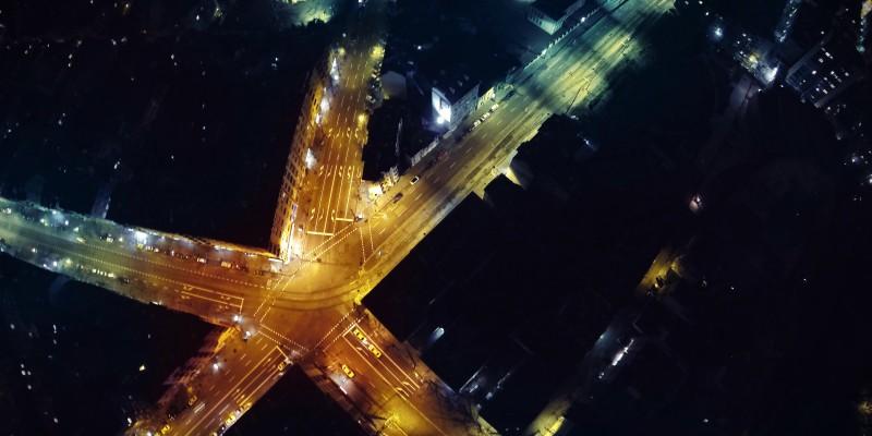 снимки от квадракоптер