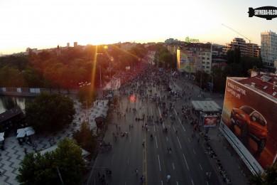 протест от въздуха