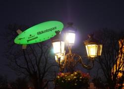 Светещ цепелин за Heiniken