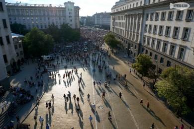 Протест 18.6.2013 срещу мафията и престъпното управление