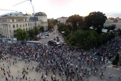 Протест 17.6.2013 срещу мафията и престъпното управление