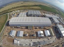 Заснемане от въздуха на строителни обекти