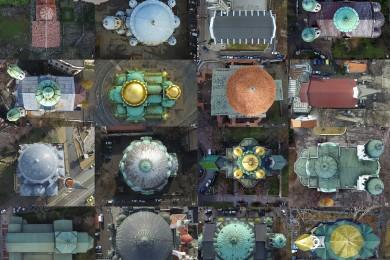 16 софийски храма от горна гледна точка