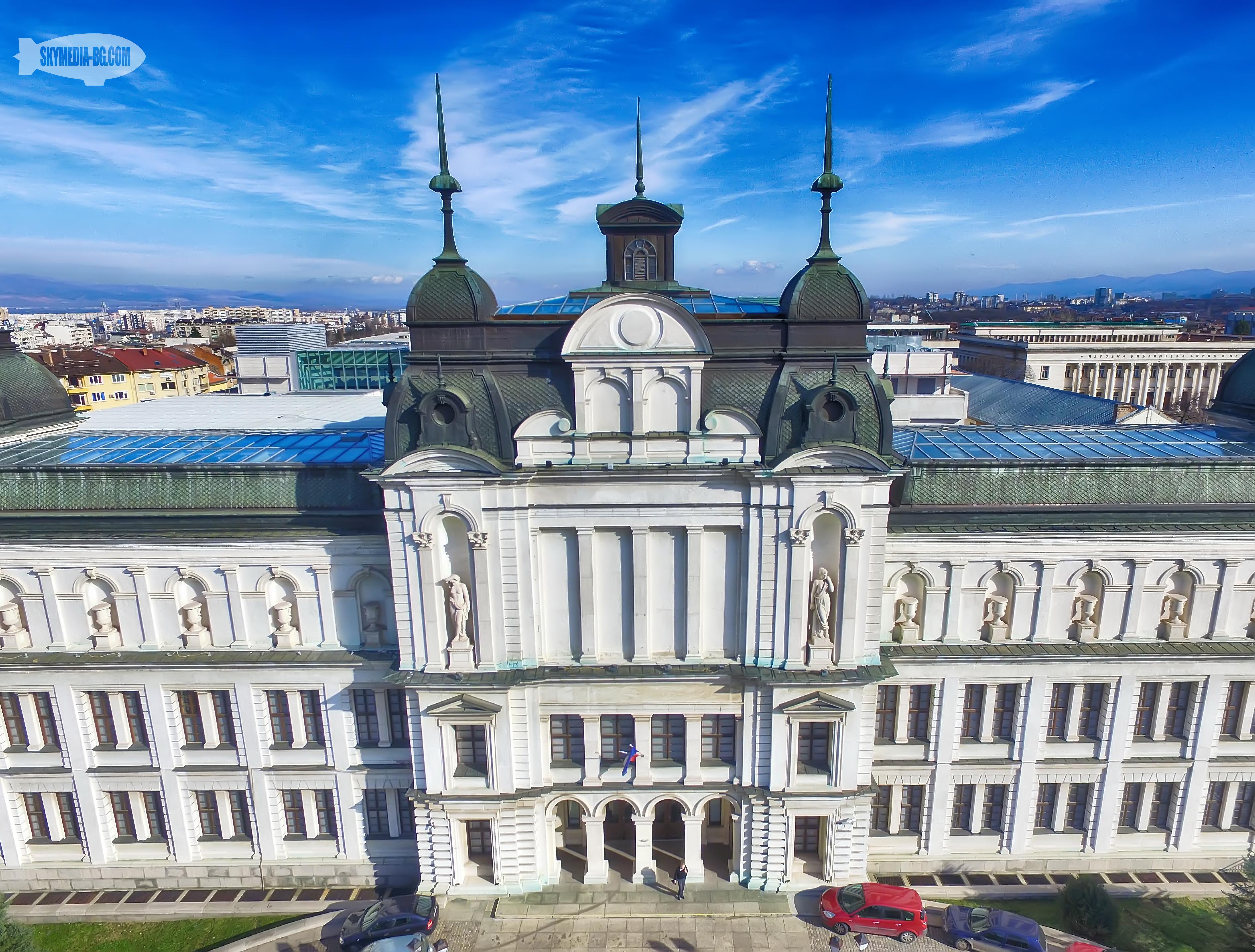 Националната галерия за чуждестранно изкуство се намира в сградата на бившата държавна печатница, проектирана от виенския архитект Фридрих Швамбергер. Пострадала е силно при бомбардировките.