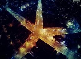 Снимки на 5-те кьошета от високо
